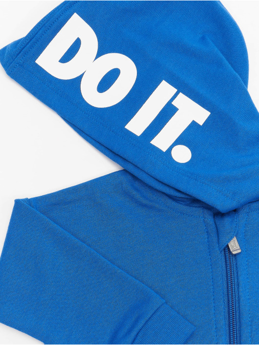 Nike Combinaison & Combishort Nkn Hooded Baby Ft Coveral bleu