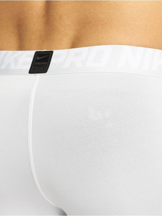 Nike Compressie shorts Pro wit