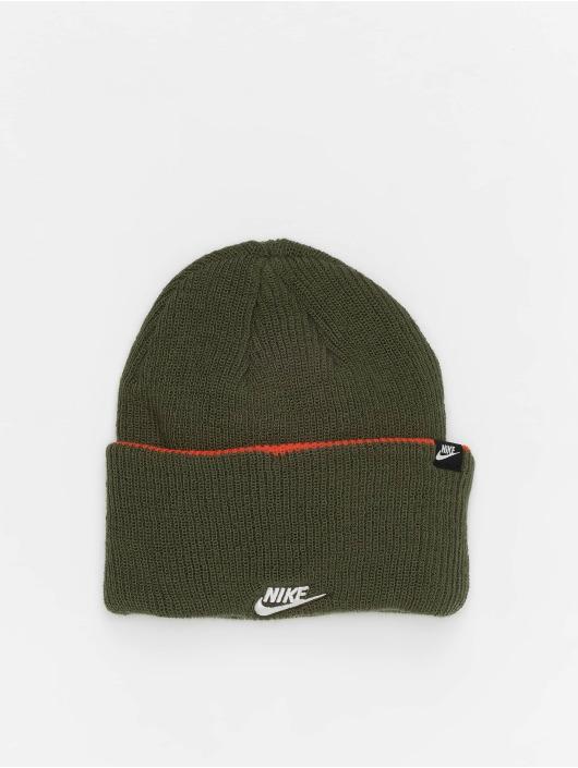 Nike Czapki Cuffed Beanie 3 In 1 oliwkowy