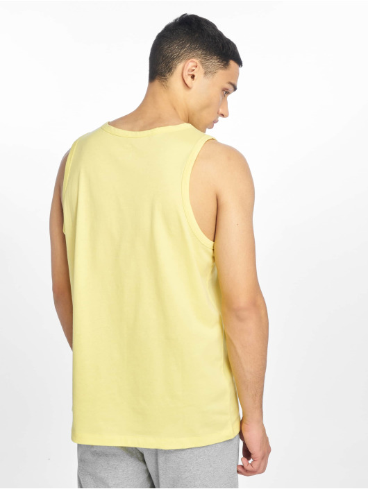 Nike Débardeur Club Tank Top jaune