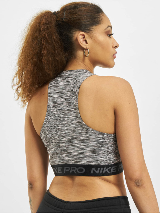 Nike Débardeur Space-Dye noir