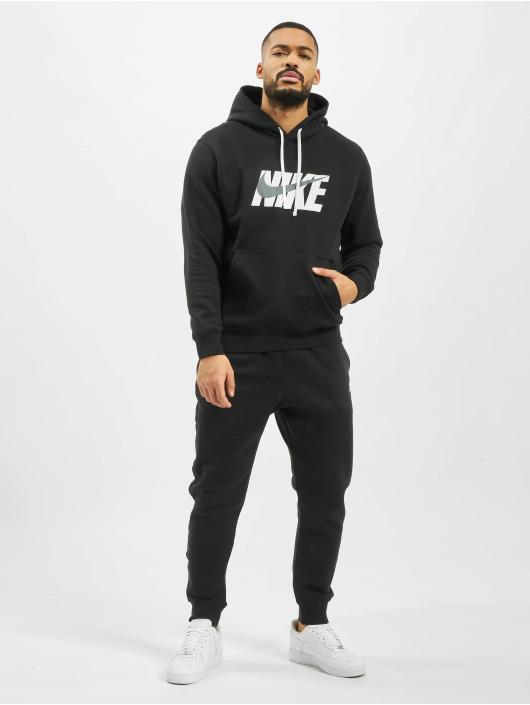 Nike Dresy Fleece czarny