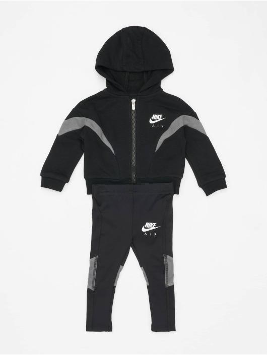 Nike Dresy FZ Jacket Air 2PC czarny