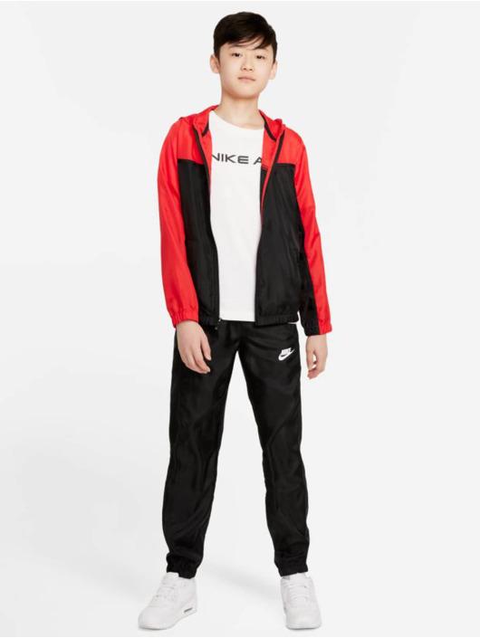 Nike Dresy Woven czerwony