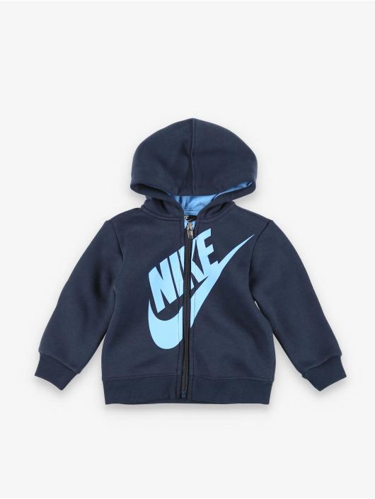 Nike Dresy Sueded Flce Futura niebieski