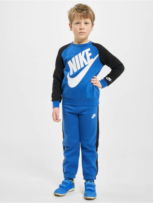 Nike Dresy Nkn Oversized Futura niebieski