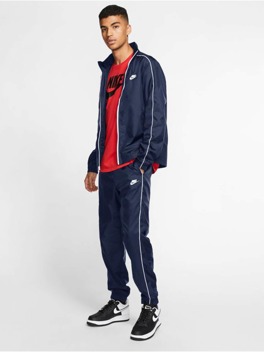 Nike Dresy Spe Woven Basic niebieski