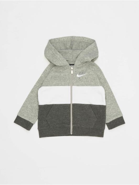 Nike Dresy Air Full Zip & Jogger szary