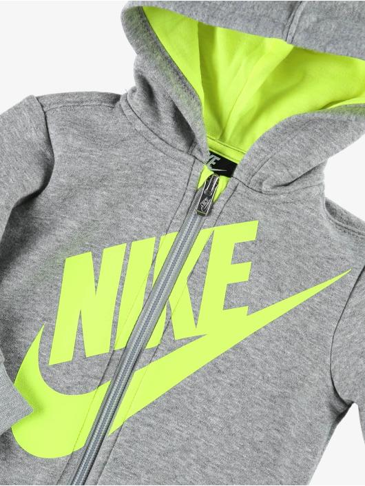 Nike Dresy Sueded Flce Futura szary