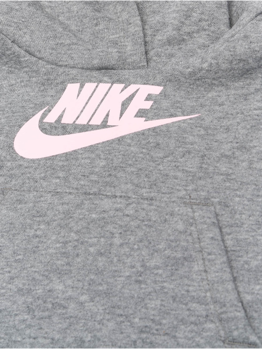 Nike Dresy Club Fleece szary