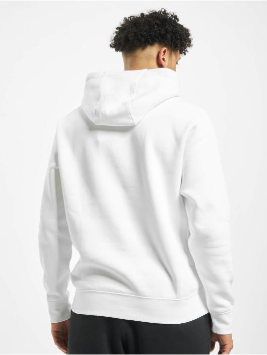 Nike Felpa con cappuccio Club bianco