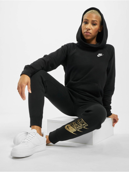 Nike Felpa con cappuccio Essential PO Flecce nero