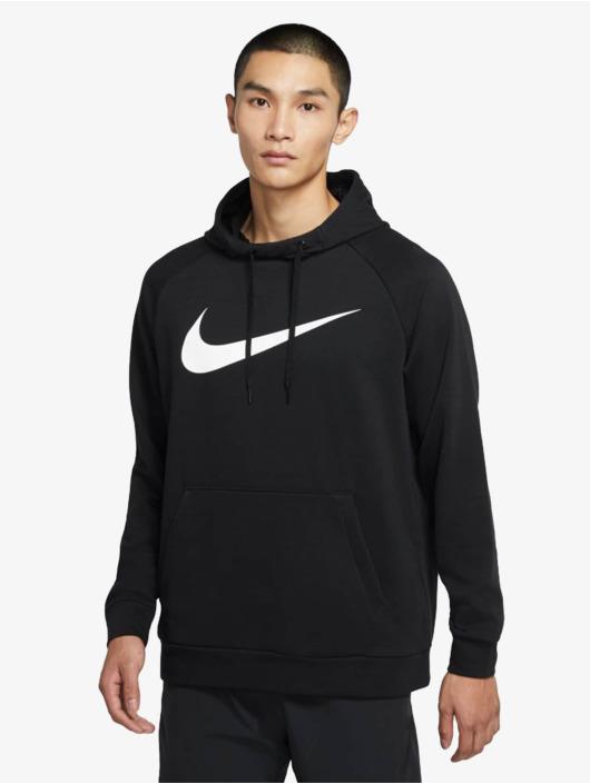 Nike Felpa con cappuccio Dri-Fit Swoosh nero
