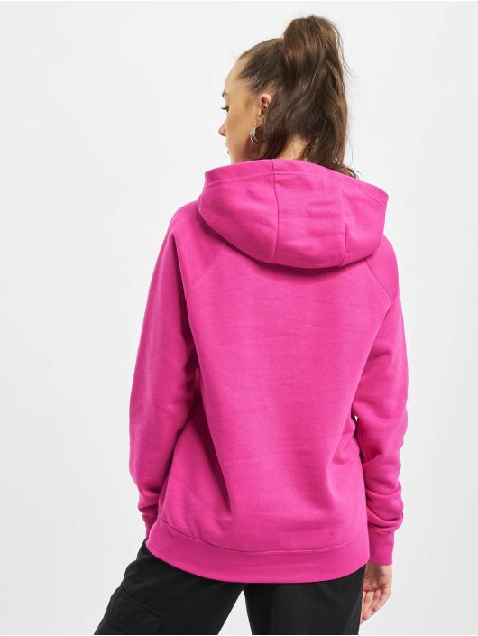 Nike Felpa con cappuccio W Nsw Essntl Flc Fnl rosa