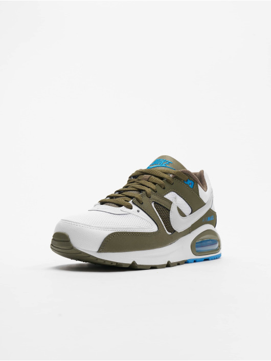Nike Air Max Command Sneakers WhitePure PlatinumMedium Olive