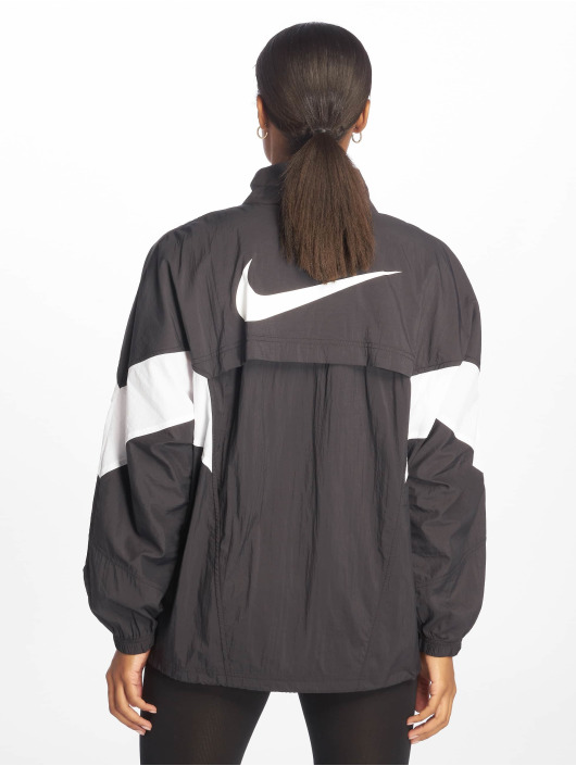 Nike Functioneel jack Throwback zwart