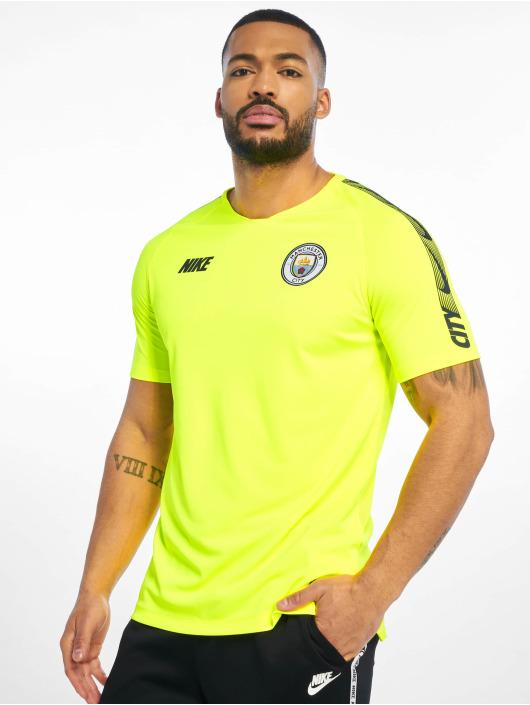 Nike Fußballtrikots Manchester City FC Breathe Squad gelb