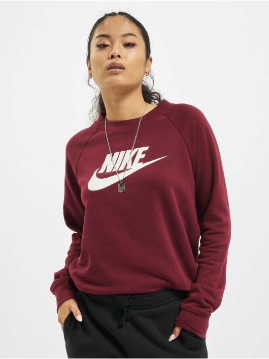 Nike Gensre Essential Crew Fleece HBR red