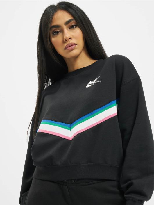 Nike Gensre Heritage Crew Fleece svart
