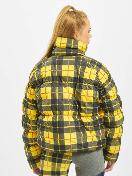 Nike Gewatteerde jassen Synthetic Fill AOP PD geel