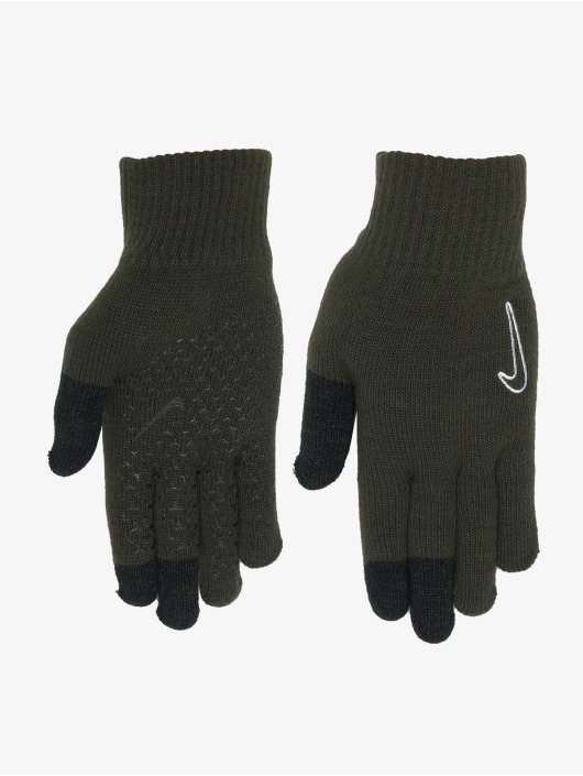 Nike Glove Knitted Tech And Grip green