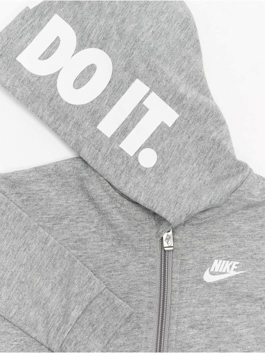 Nike Haalarit ja jumpsuitit Nkn Hooded Baby Ft Coverall harmaa