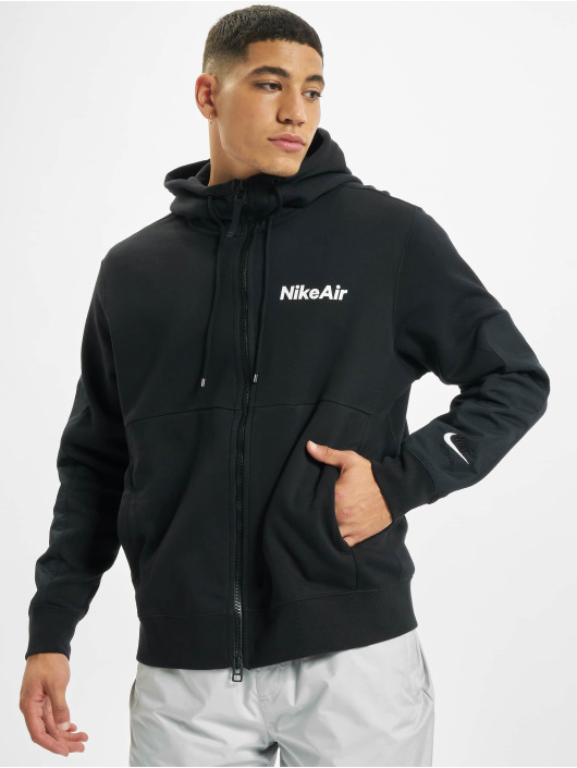 Nike Hettegensre Air Full Zip Fleece svart