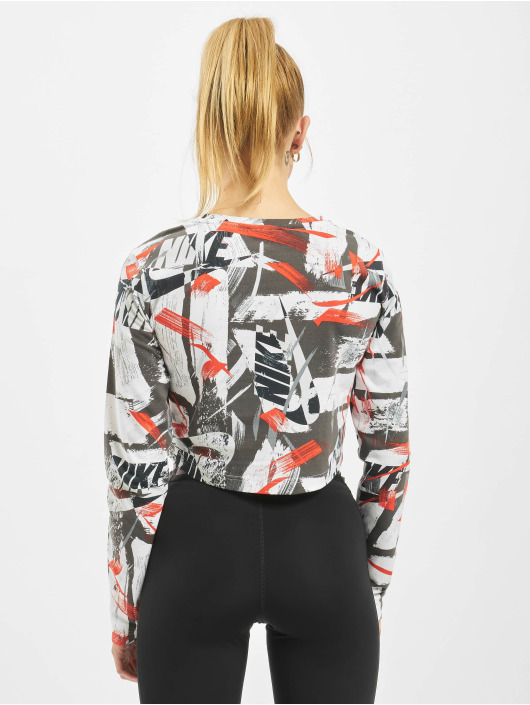 Nike Hihattomat paidat LS AOP punainen