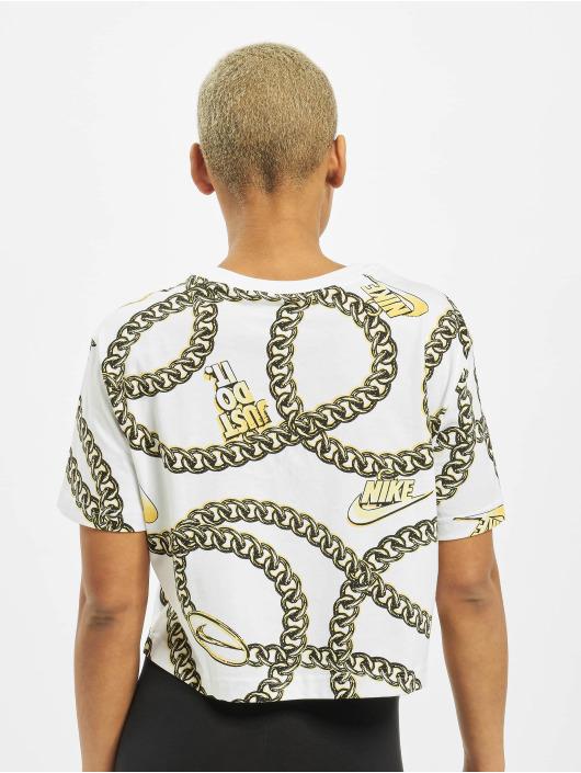 Nike Hihattomat paidat Glam Dunk valkoinen