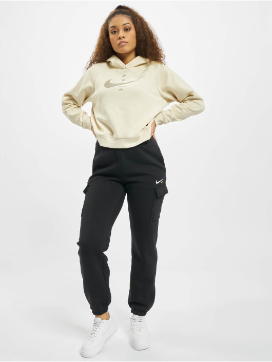 Nike Hoodie Swoosh Fleece beige