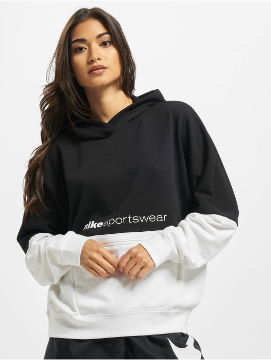 Nike Hoodie FT Archive Remix black