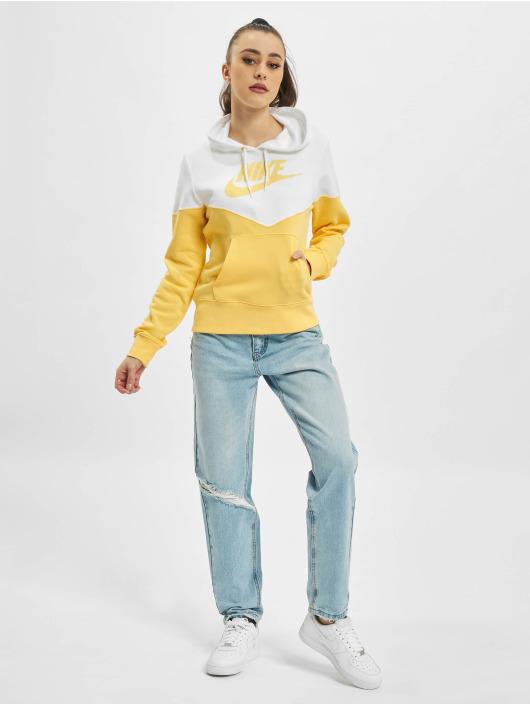 Nike Hoodie Fleece Hoodie Topaz gold colored