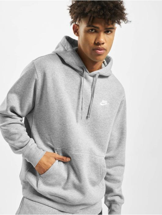 Nike Hoodie Club PO BB grå