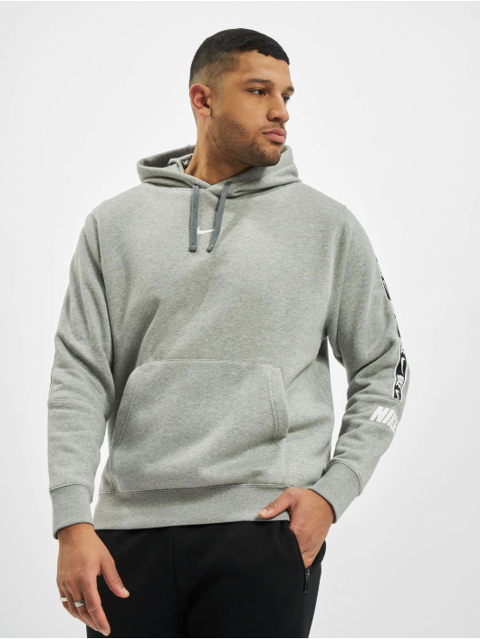 Nike Hoodie M Nsw Repeat Flc Po Bb gray