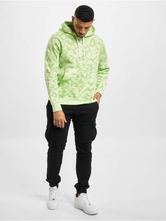 Nike Hoodie M Nsw Club Bb Camo grön