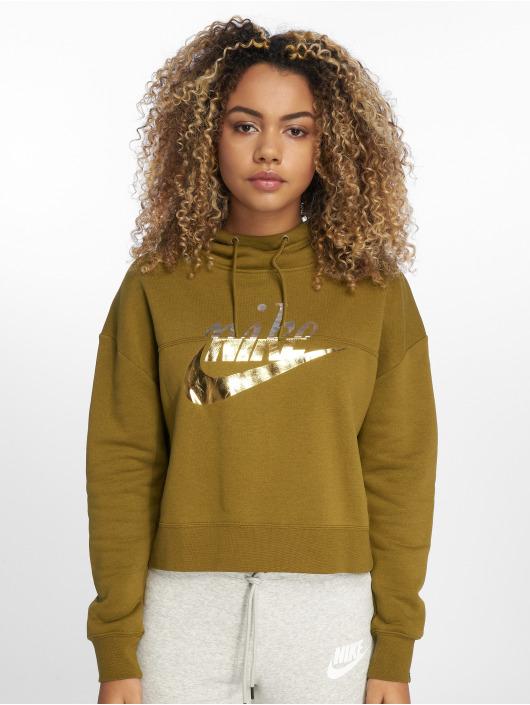 Nike Hoodie Rally olive