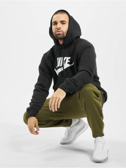 Nike Hoodie Club svart