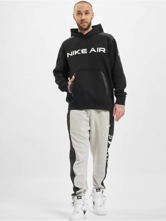 Nike Hoodie M Nsw Air Po Flc svart