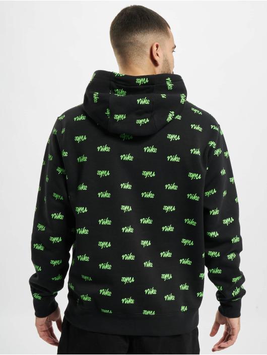 Nike Hoodie Sportswear Club BB Scrpt svart