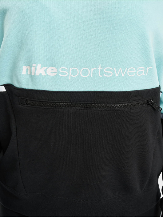 Nike Hoodie FT Archive Remix turquoise