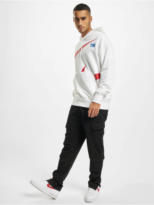 Nike Hoodie Swoosh white
