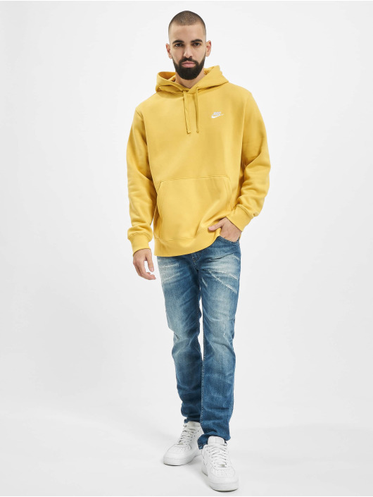 Nike Hoodie Club yellow