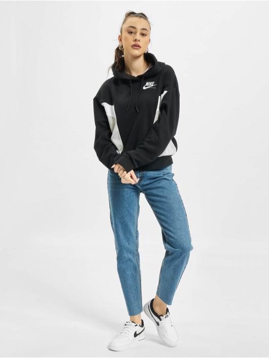 Nike Hoodies W Nsw Heritage Flc čern