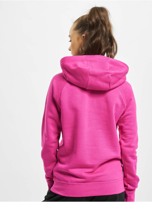 Nike Hoodies W Nsw Essntl Flc Gx červený