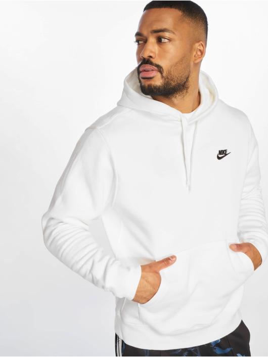 Nike Hoodies Club PO BB Hoody bílý
