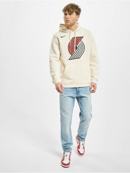 Nike Hoodies Por M Nk Logo Po Flc Ce beige