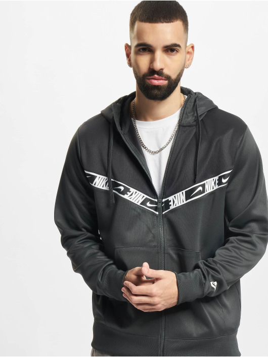 Nike Hoodies con zip Repeat PK grigio