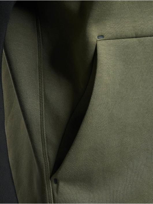Nike Hoodies con zip Sportswear Tech Fleece oliva