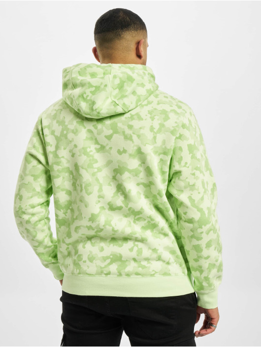 Nike Hoodies M Nsw Club Bb Camo grøn