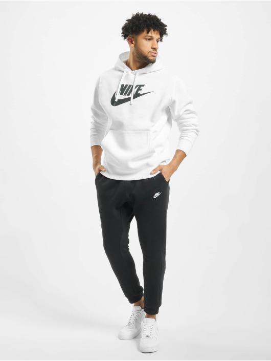 Nike Hoodies Club hvid